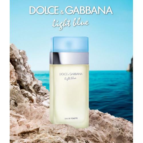 6acdbf454c PERFUME DOLCE & GABBANA LIGHT BLUE FEMININO - 100ml