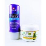 Kit Mascara Silicon Mix Bambú + Aussie 3 Minute Miracle Moist