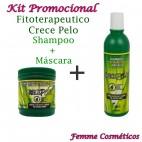 Kit Promocional - Fitoterapeutico Crece Pelo Shampoo + Máscara