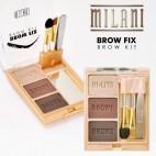 Kit para sobrancelhas Brow Fix - Milani