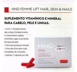 HINODE FEMME LIFT HAIR SKIN & NAILS 6 BLISTE HND